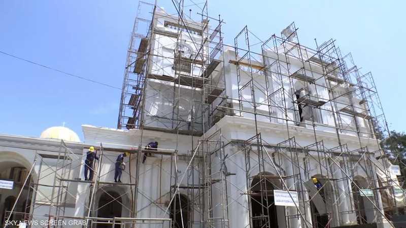 سريلانكا.. تواصل أعمال ترميم الكنائس