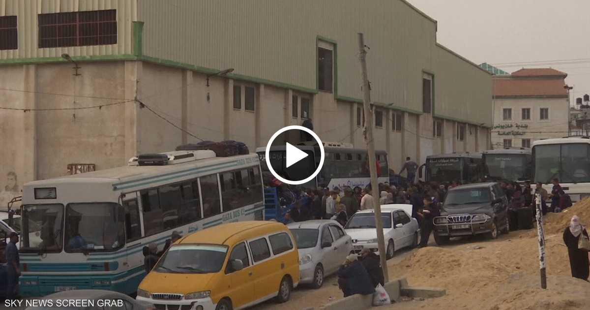 أكثر من 35 ألف شخص غادر قطاع غزة من معبر رفح