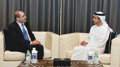 """الإمارات والأردن يؤكدان """"تضامنهما الكامل"""" في مواجهة التحديات"""