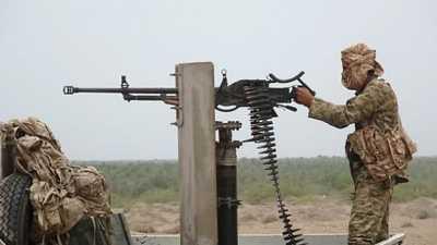 الحزام الأمني يتقدم في شمال الضالع