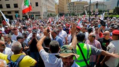 لبنان.. احتجاجات غاضبة على نية الحكومة خفض الرواتب