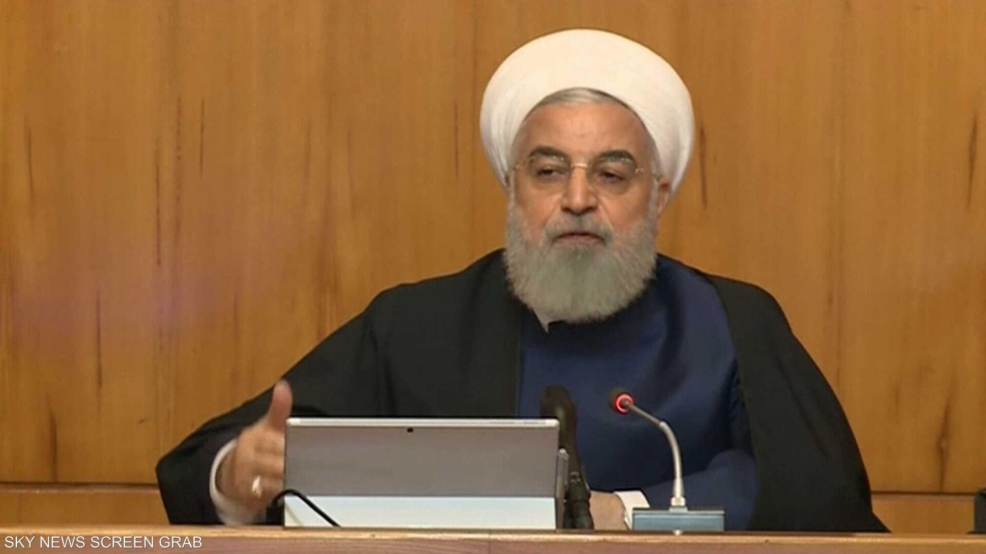 روحاني يريد الحصول على صلاحيات تنفيذية موسعة في زمن الحرب