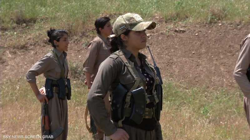 حزب كردي إيراني يكثف تدريباته العسكرية