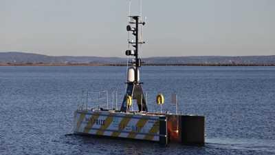 """أول سفينة تعبر الأطلسي """"بلا طاقم"""" تستعد للإبحار"""