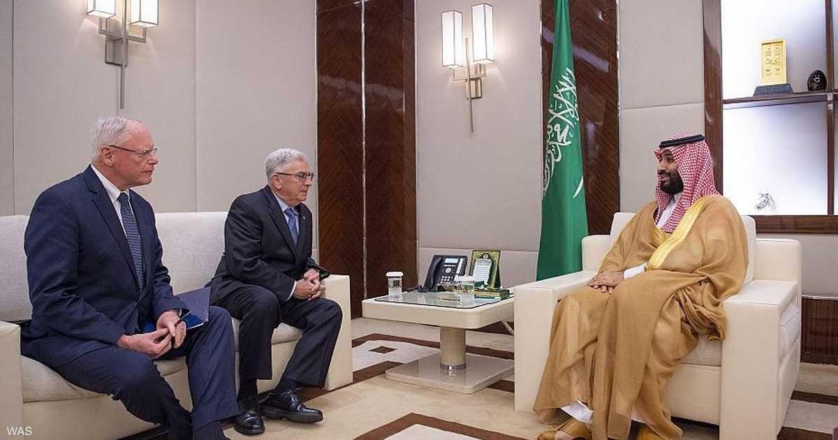محمد بن سلمان يلتقي مبعوث الرئيس الأميركي للشأن السوري
