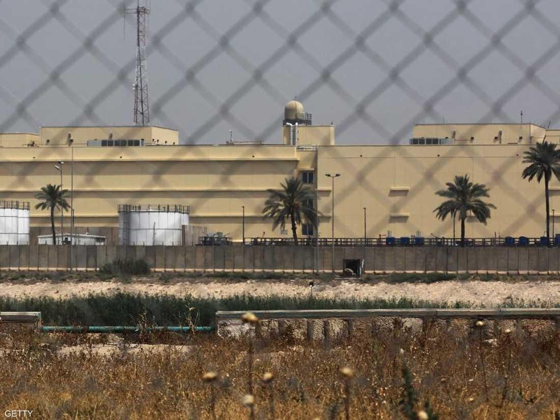 مجمع السفارة الأميركية في بغداد. أرشيفية