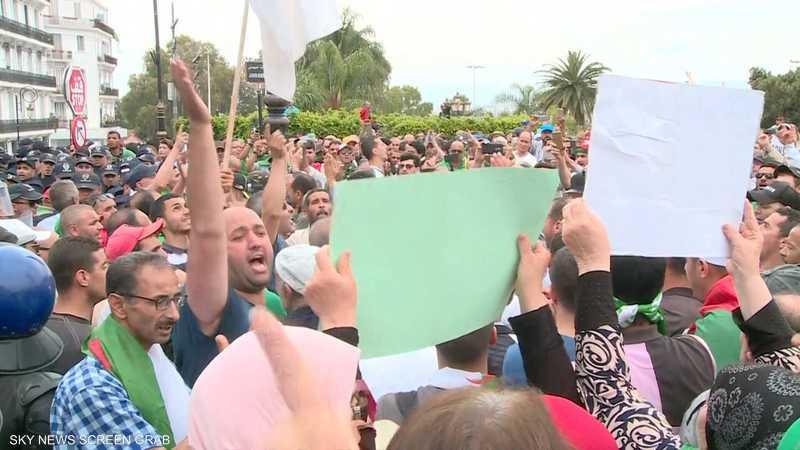 جانب من احتجاجات الجزائر