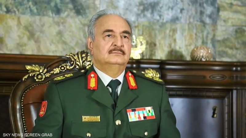 """حفتر يتهم غسان سلامة بـ""""الوسيط المنحاز"""""""