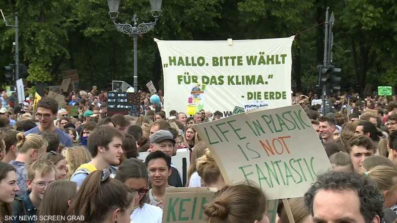 مسيرات شبابية تجوب أوروبا لتعزيز الوعي البيئي
