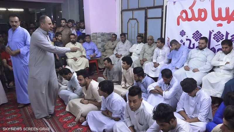 لعبة المحيبس الشعبية تميز ليالي رمضان ببغداد