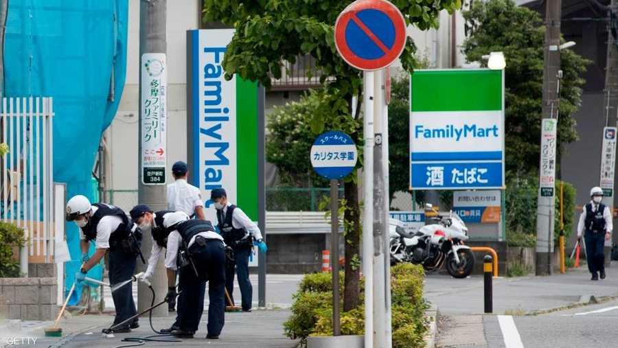 من النادر وقوع مثل هذه الحوادث في اليابان.