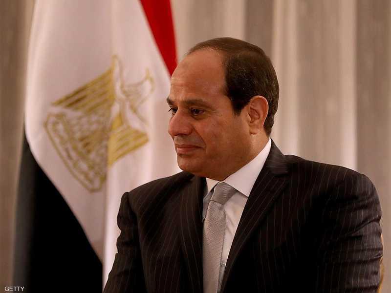 السيسي أكد عزم مصر على محاربة الإرهاب