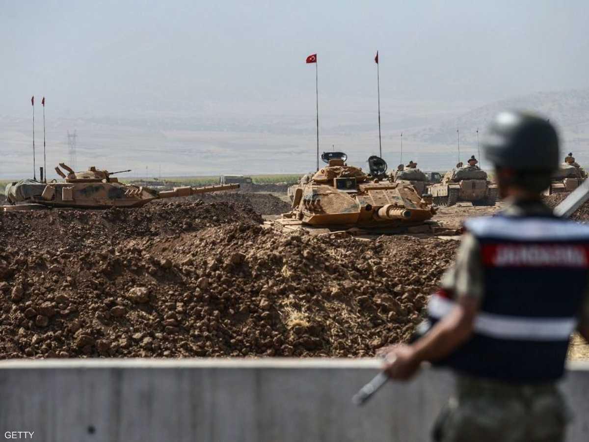 الجيش التركي على حدود العراق في لقطة أرشيفية