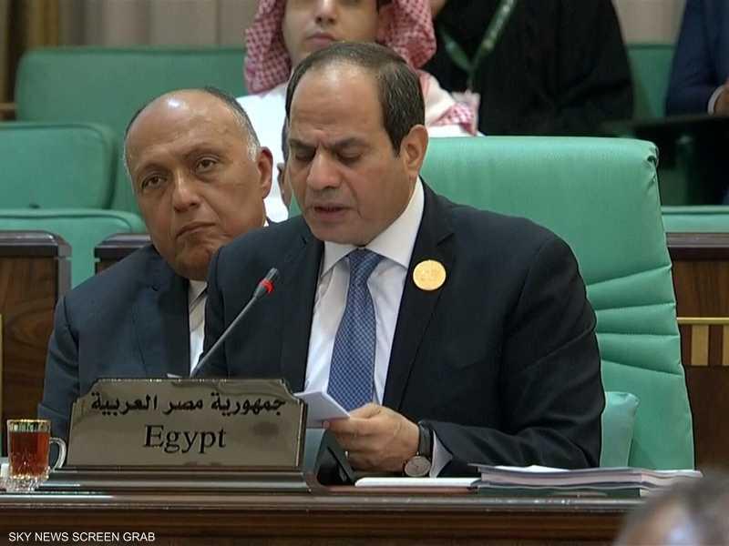 السيسي: ظاهرة الإرهاب التحدي الرئيسي للعالم الإسلامي