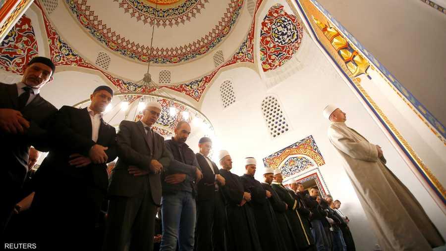 صلاة العيد في البوسنة