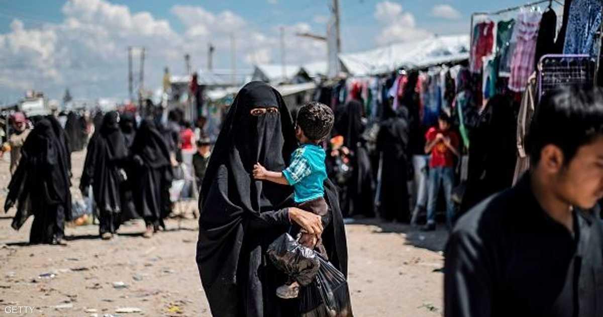 من سوريا إلى أميركا.. ترحيل داعشيتين و6 أطفال   أخبار سكاي نيوز عربية