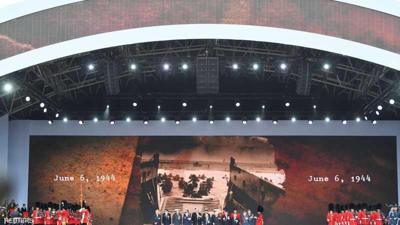 قادة االعالم يشاركون في احتفالات الذكرى 75 لإنزال النورماندي