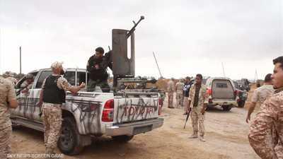 الجيش الليبي يسقط طائرة تركية مسيرة أغارت على قواته