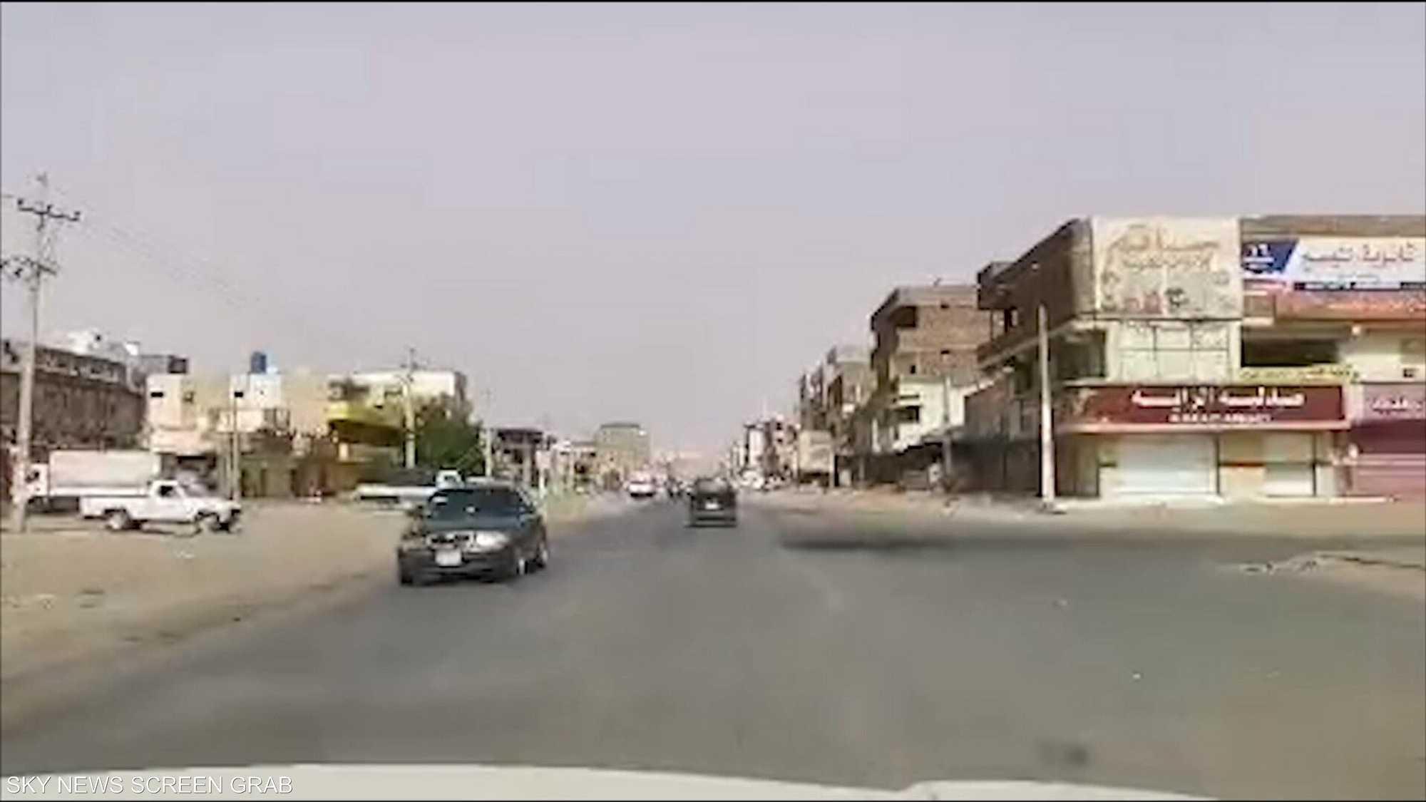 الاستجابة للعصيان المدني في السودان أقل في اليوم الثاني