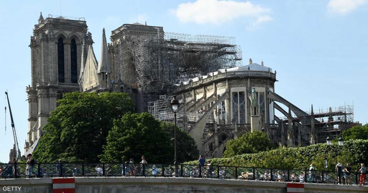 كاتدرائية نوتردام تعلن موعد أول قداس بعد