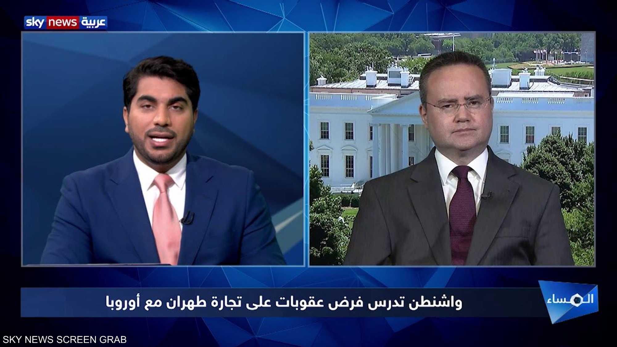 واشنطن تدرس فرض عقوبات على تجارة طهران مع أوروبا