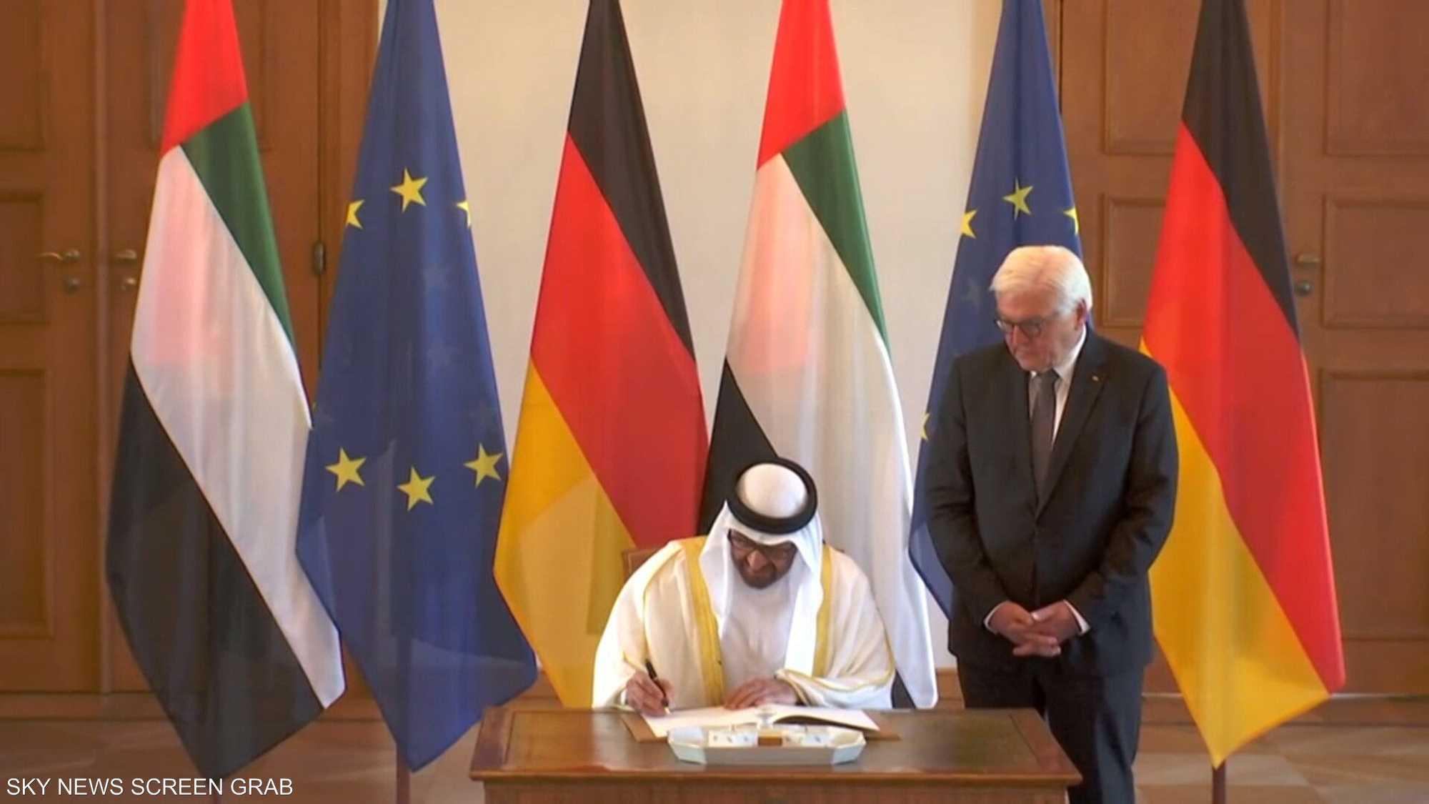 ولي عهد أبوظبي يقوم بزيارة إلى ألمانيا