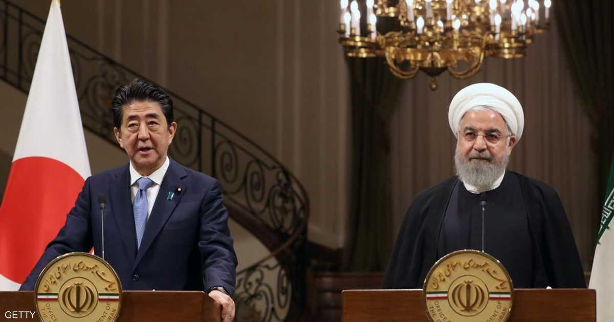 رئيس وزراء اليابان يدعو إيران