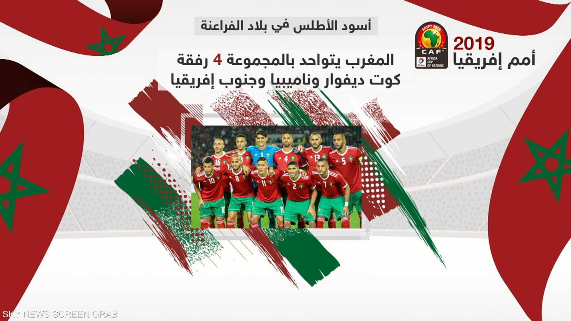 منتخب المغرب يواصل التحضيرات كأحد أقوى المرشحين للتتويج