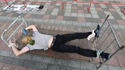 صورة أرشيفية من حملة مناهضة للتعذيب