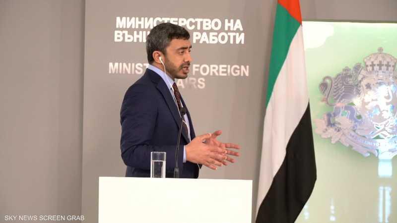 الشيخ عبد الله بن زايد: هناك أطراف بالمنطقة لا تريد استقراره