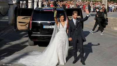 زفاف راموس.. مفاجأة المدعوين الـ100 تربك نجم ريال مدريد