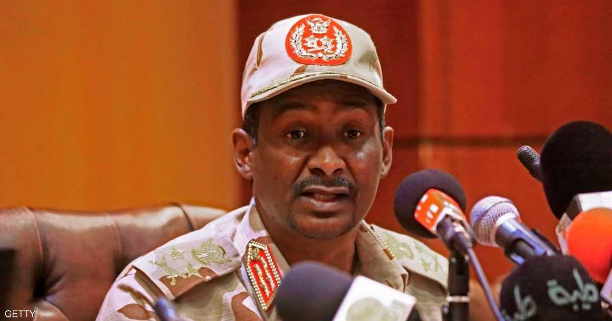 حميدتي: يجب إيجاد حل  الآن  في السودان   أخبار سكاي نيوز عربية