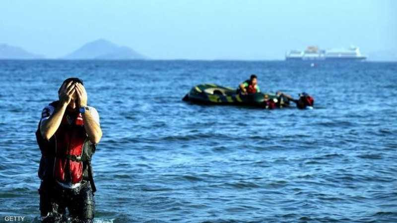 غرق 8 مهاجرين
