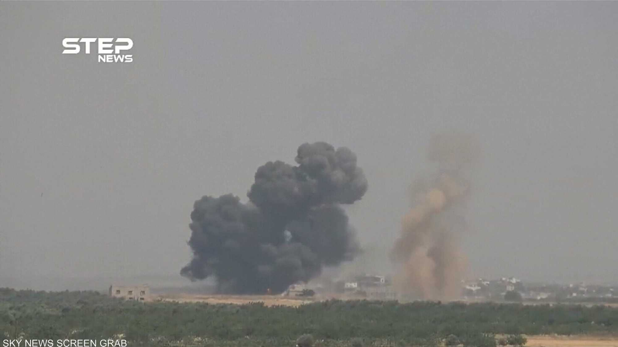 قصف على موقع مراقبة تركي في إدلب