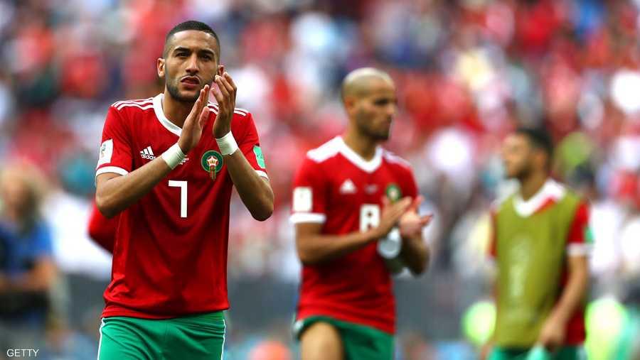 10- المغربي حكيم زياش (أياكس الهولندي) (قيمته 40 مليون يورو)