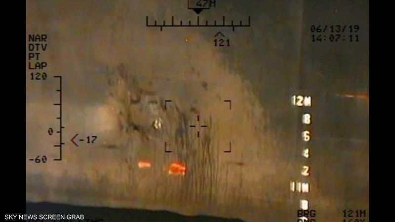 إحدى الصور التي نشرها الجيش الأميركي