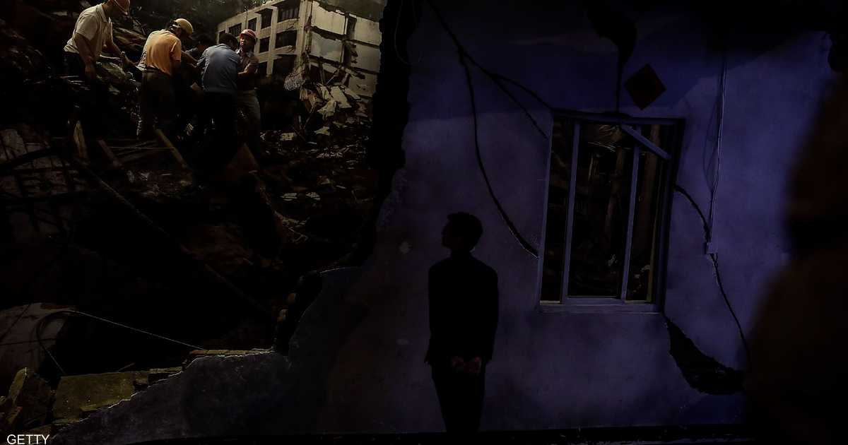 قتلى و75 جريحاً إثر زلزال بقوة 6 درجات ضرب جنوب غرب الصين