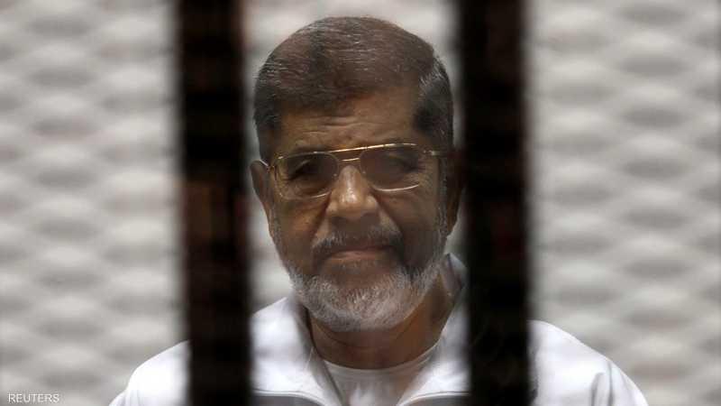 مرسي توفي الاثنين أثناء جلسة محاكمة