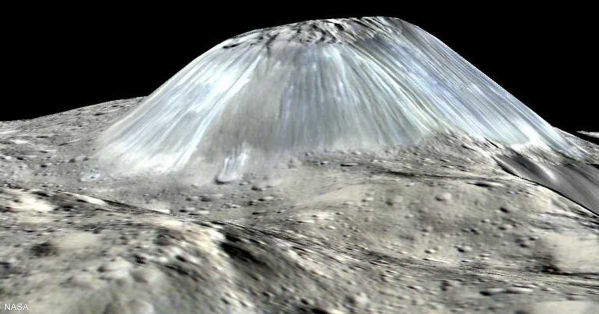 ناسا  تكشف صورة لجبل  لم تر البشرية مثله    أخبار سكاي نيوز عربية