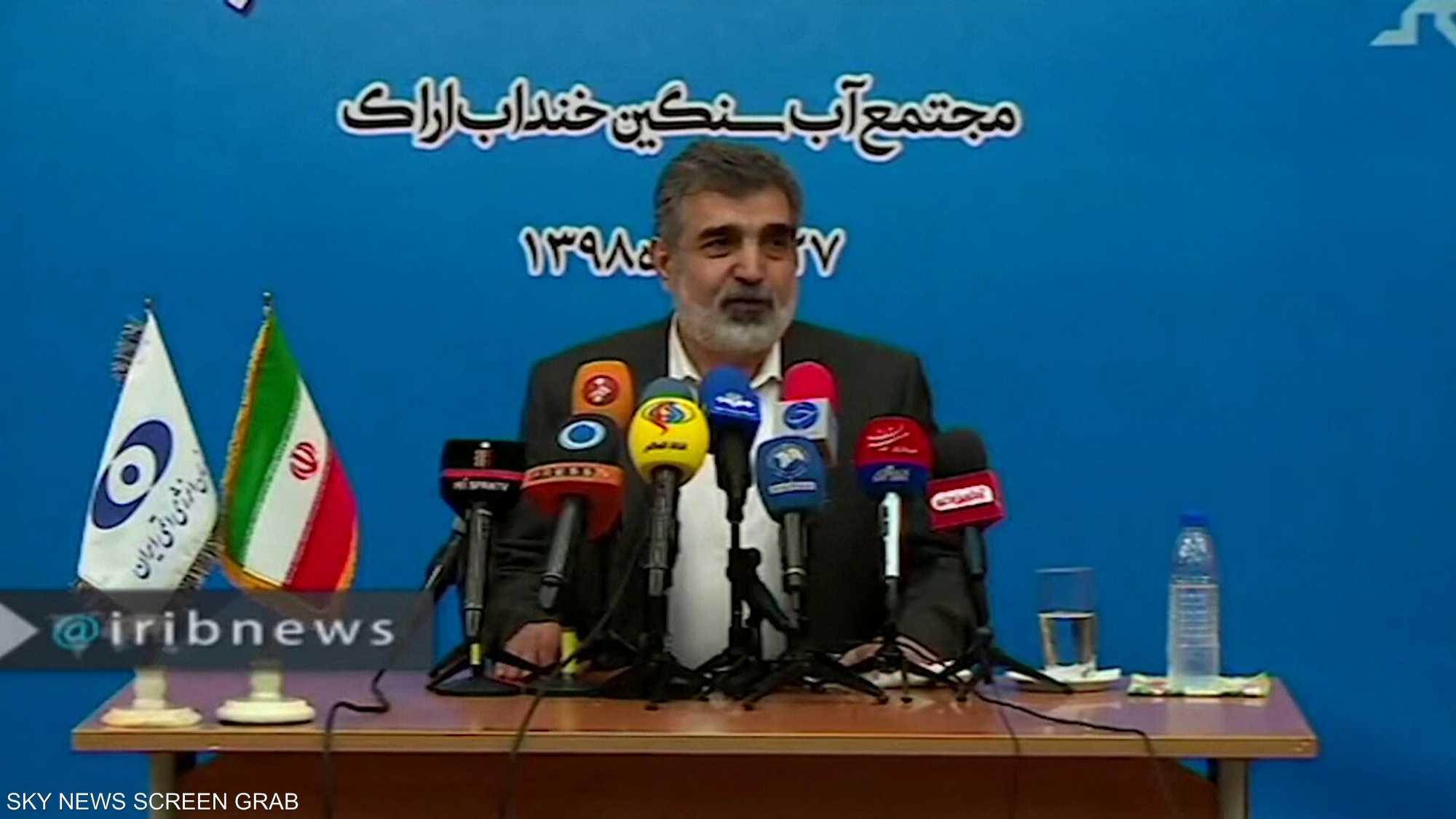 إيران ترفع تخصيب اليورانيوم إلى 20% بحلول نهاية الشهر
