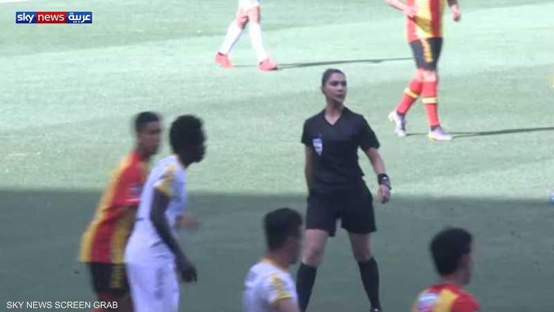 تونس.. أول امرأة حكم في كرة القدم العربية