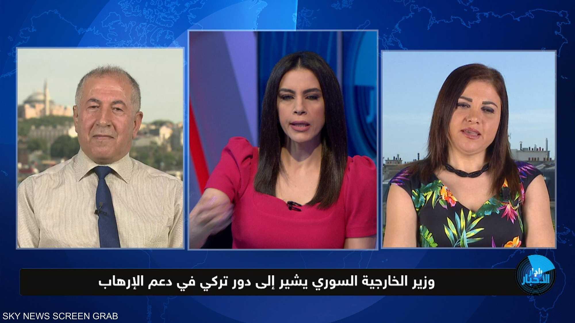 وزير الخارجية السوري يشير إلى دور تركي في دعم الإرهاب