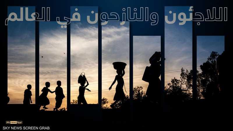 اللاجئون والنازحون