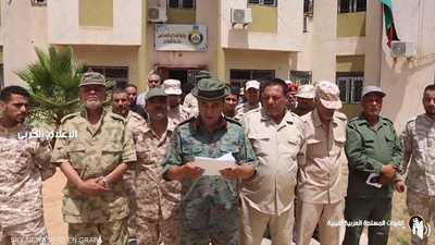 كتيبة تابعة لميليشيات طرابلس تنضم للجيش الوطني