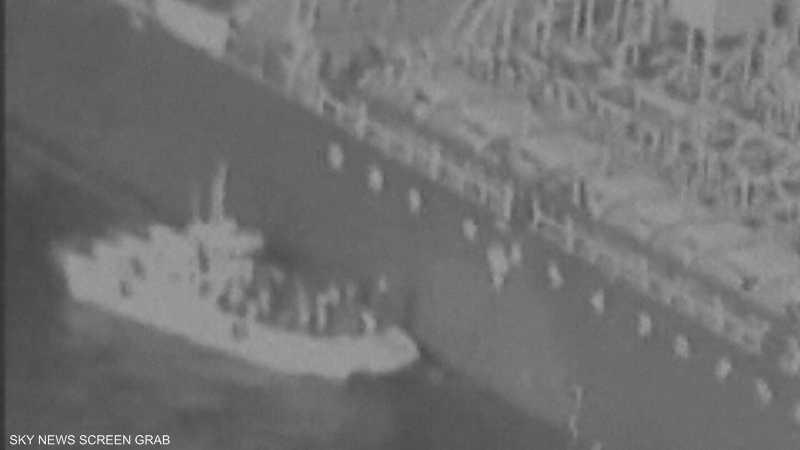 واشنطن: الناقلة اليابانية أصيبت بلغم شبيه بالألغام الإيرانية