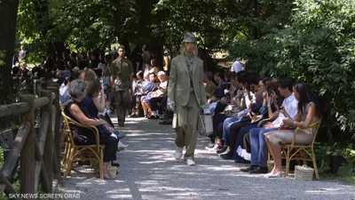 """عرض أزياء رجالي من """"فندي"""" لربيع صيف 2020"""