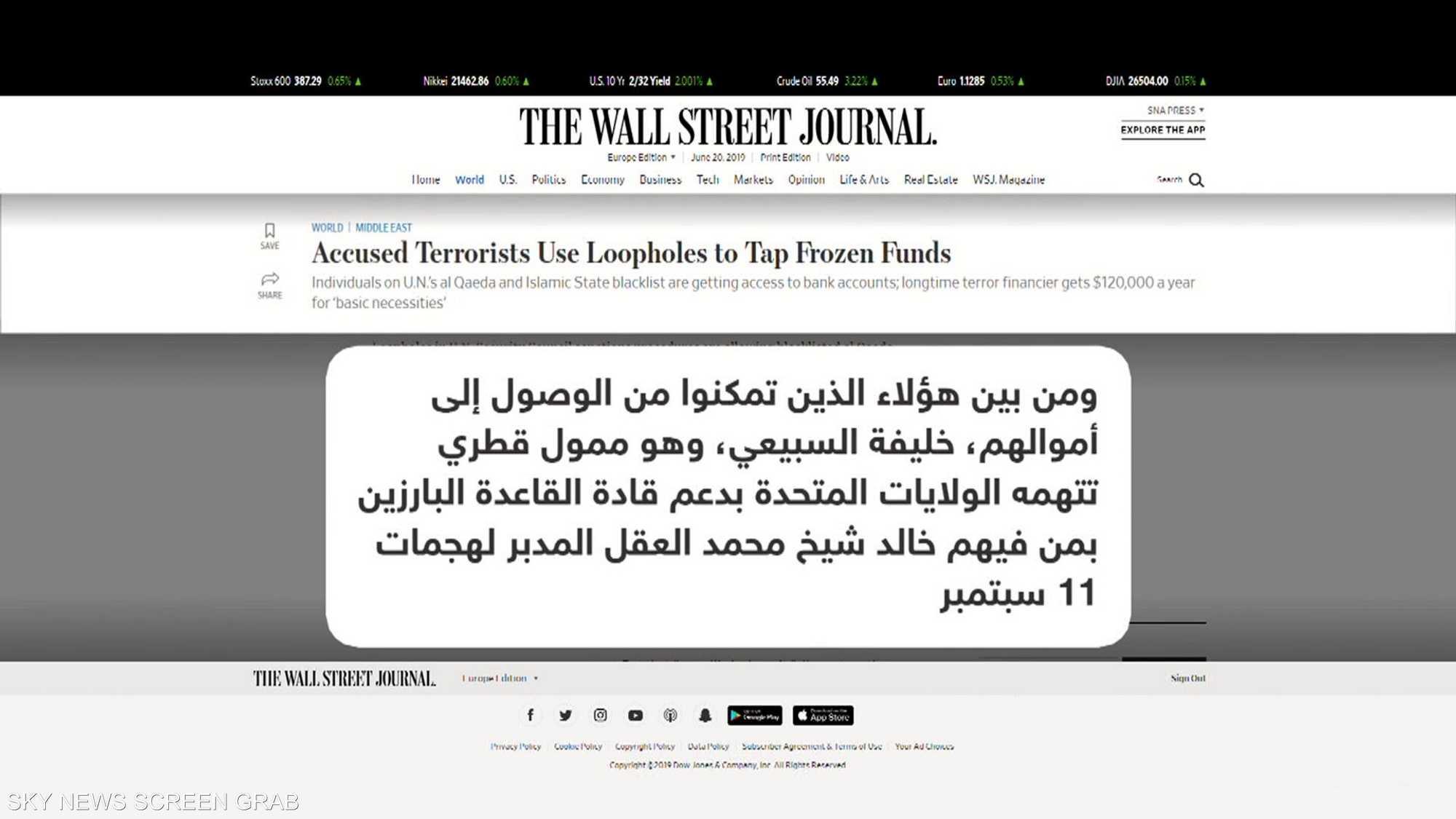 ثغرات بعقوبات دولية استغلها ممول قطري للإرهاب