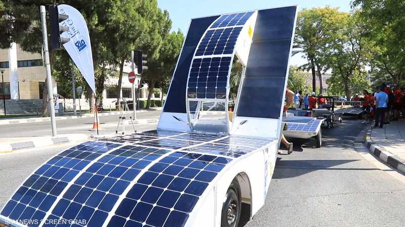 انطلاق سباق للسيارات الشمسية في قبرص