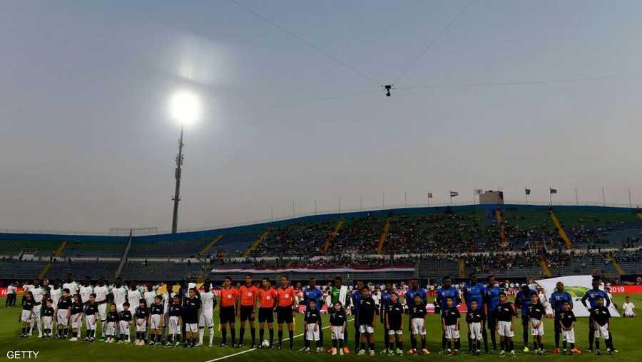 """نجوم السنغال تألقوا في القاهرة برغم الحضور الجماهيري """"المتواضع"""""""