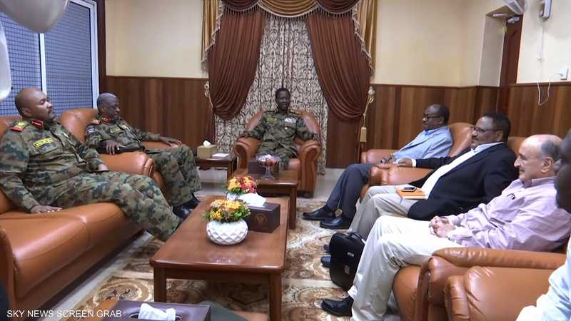 """""""العسكري"""" السوداني يرفض المبادرة الإثيوبية"""